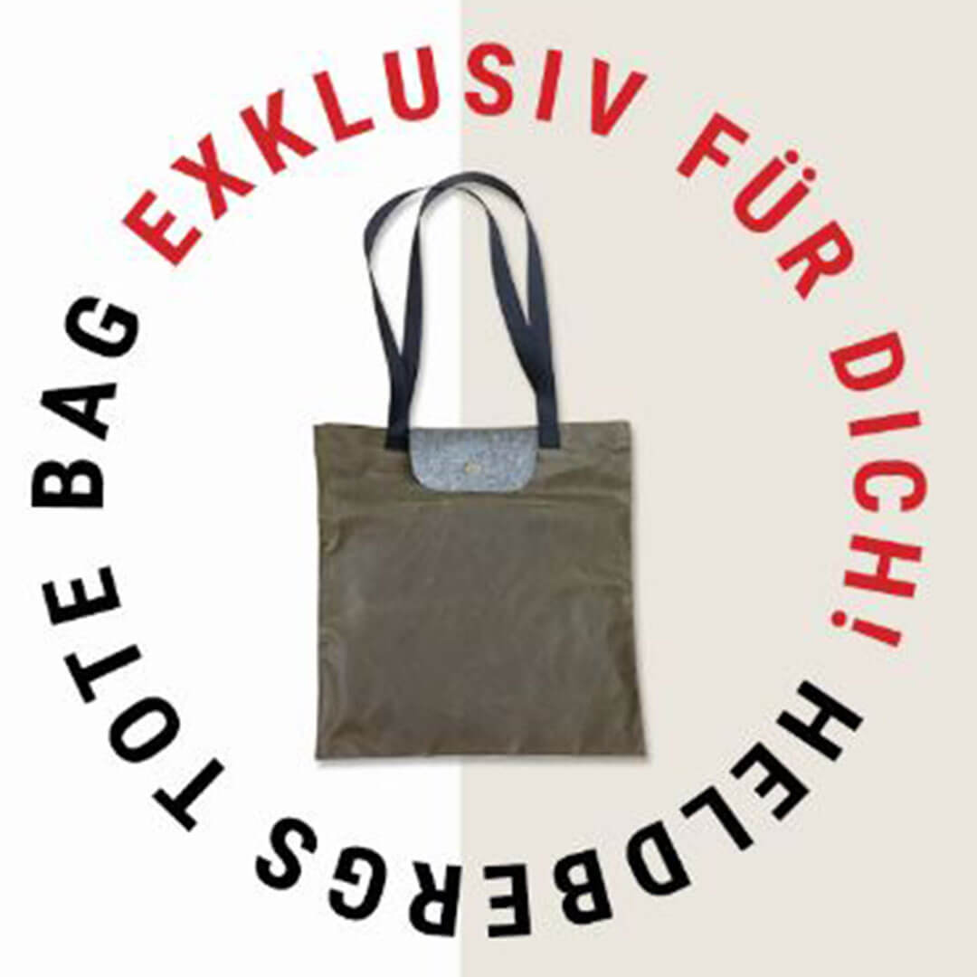 Tote Bag aus Waxed Canvas