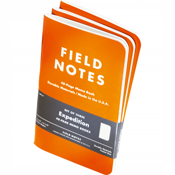 Notizbuch Field Notes Expedition